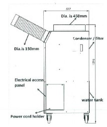 Spot-air-conditioner-side-COMPONENT-PARTS